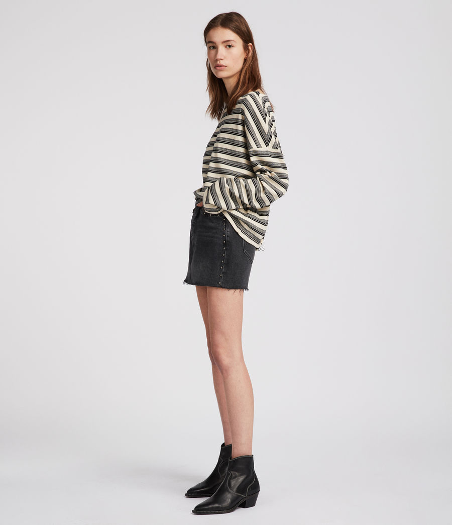 Tilly Stripe Top by Allsaints
