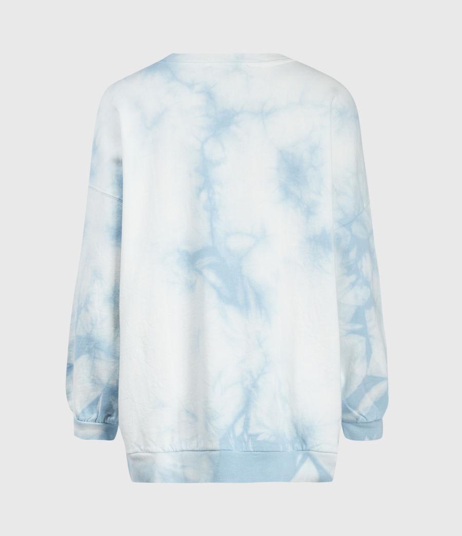 Femmes Sweat Tie & Dye Storn (chalk_blue) - Image 2