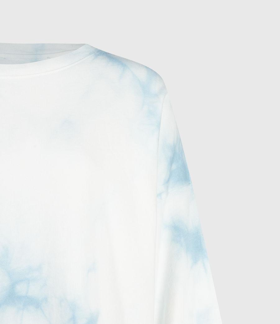 Femmes Sweat Tie & Dye Storn (chalk_blue) - Image 3