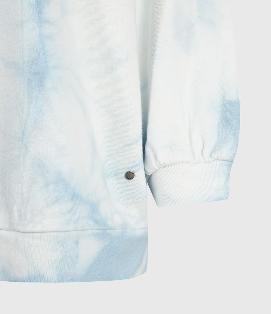Femmes Sweat Tie & Dye Storn (chalk_blue) - Image 4