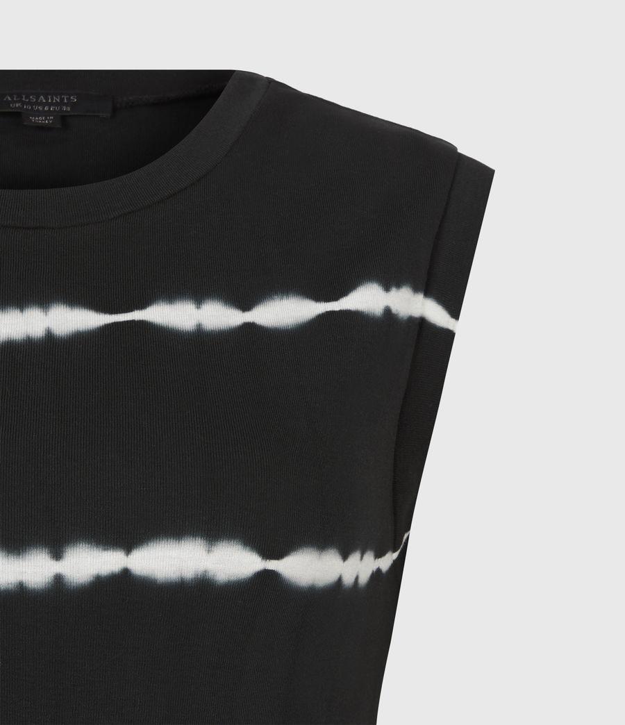 Women's Imogen Tie Dye Stripe Tank (black) - Image 5