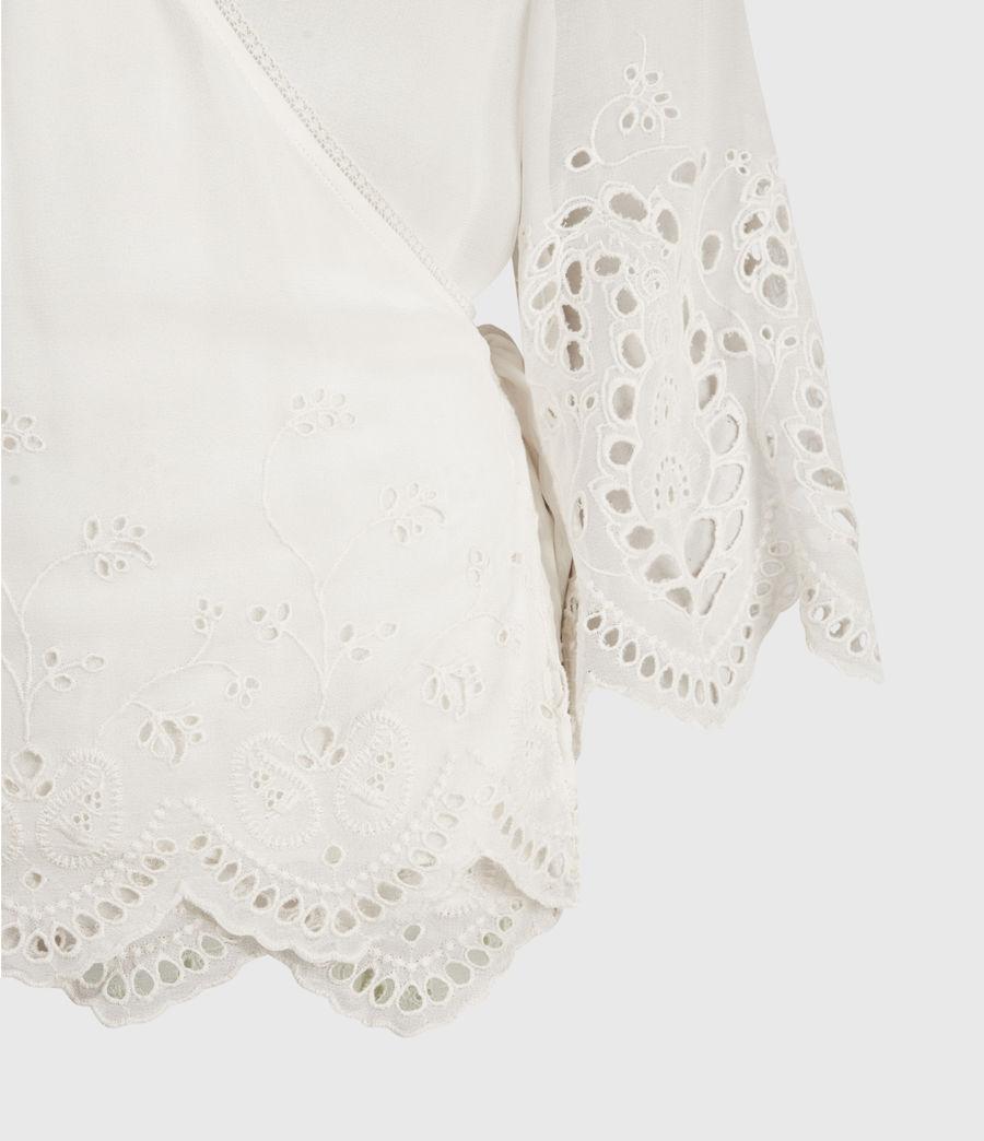 Womens Zariah Top (chalk_white) - Image 6