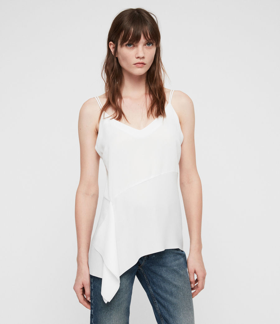 Womens Cami Top (chalk_white) - Image 1