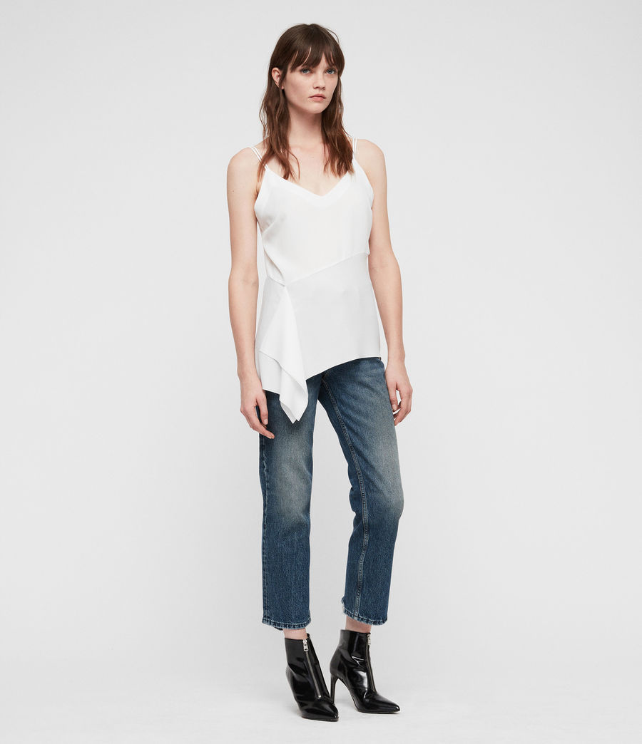 Womens Cami Top (chalk_white) - Image 3
