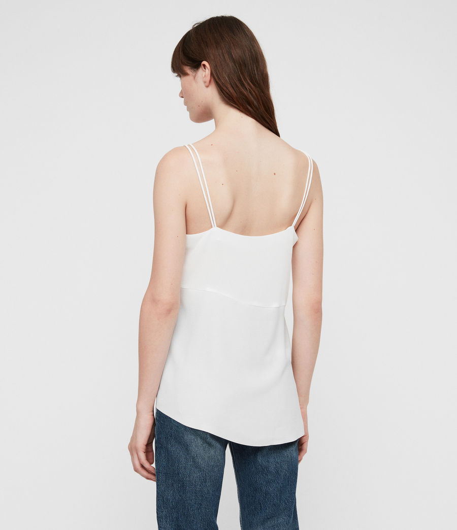 Womens Cami Top (chalk_white) - Image 4