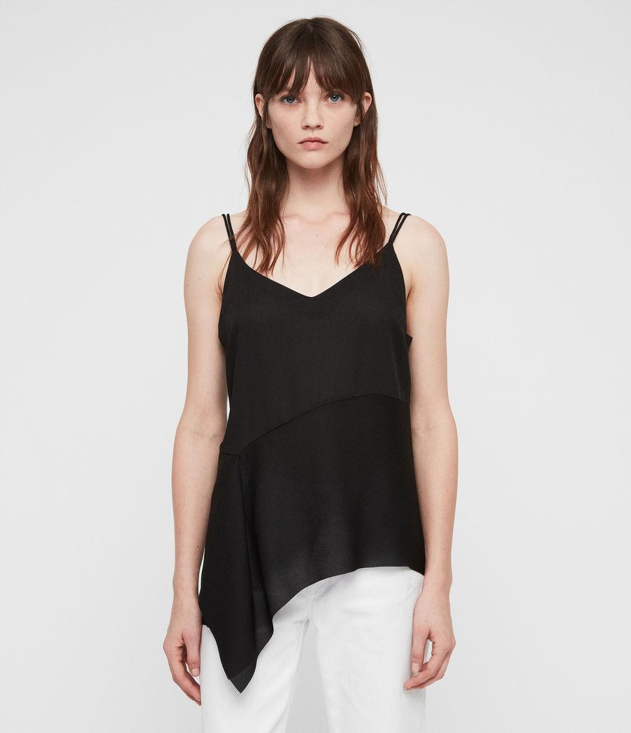 Womens Cami Top (black) - Image 1
