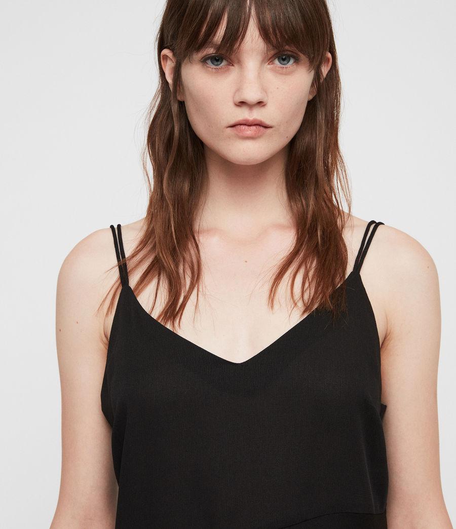 Damen Cami Top (black) - Image 2