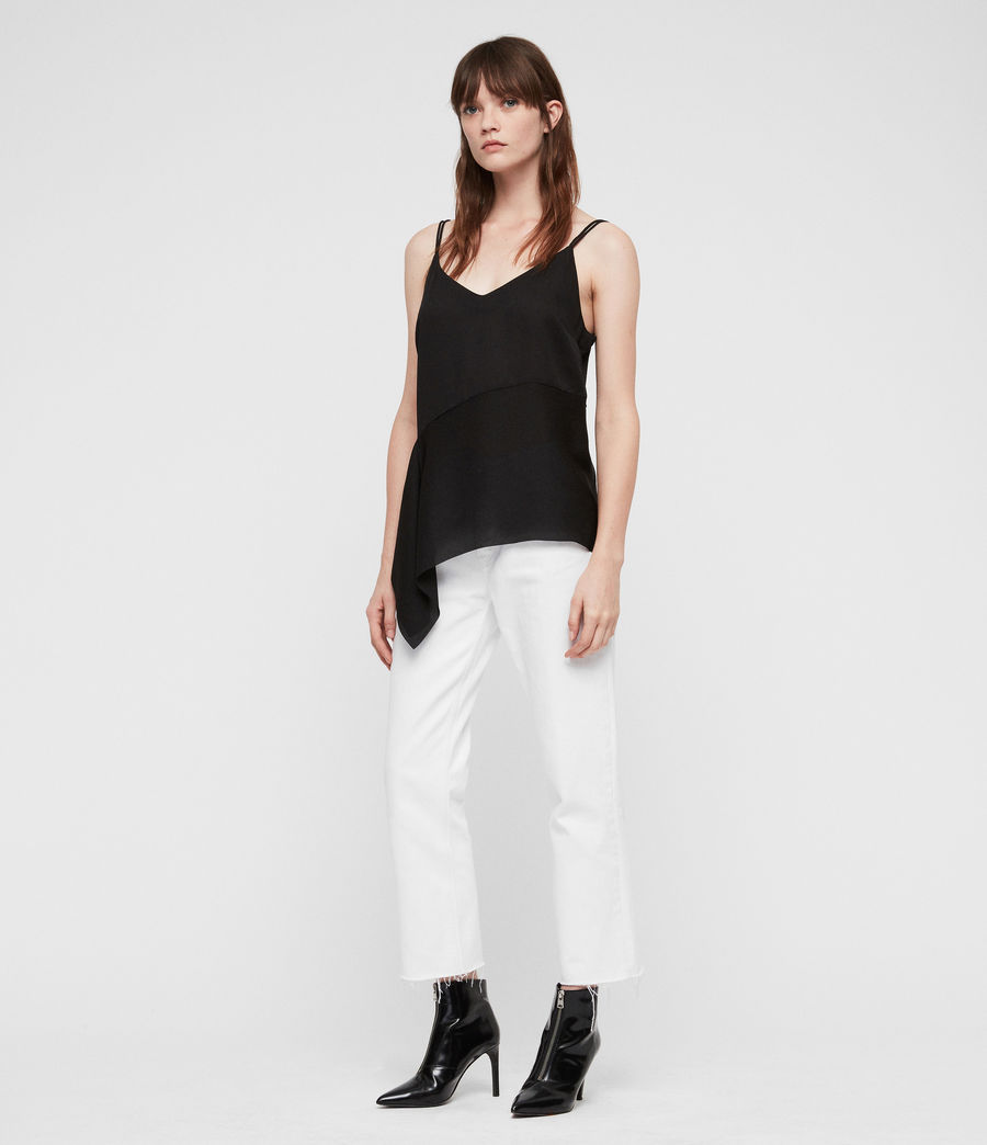 Damen Cami Top (black) - Image 3