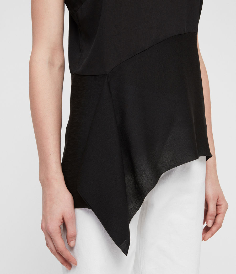 Womens Cami Top (black) - Image 4