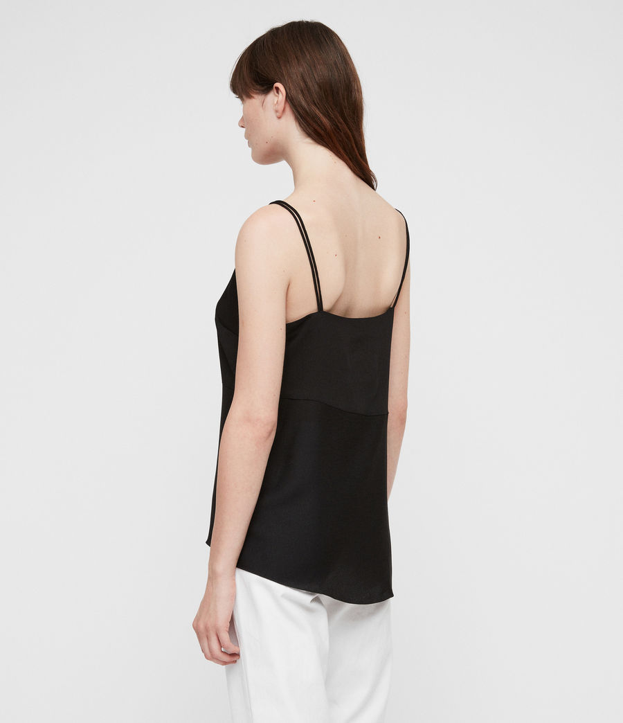 Womens Cami Top (black) - Image 5