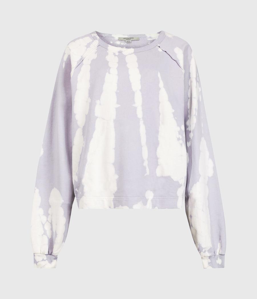 Mujer Tie Dye Jessi Sweatshirt (lavender) - Image 2
