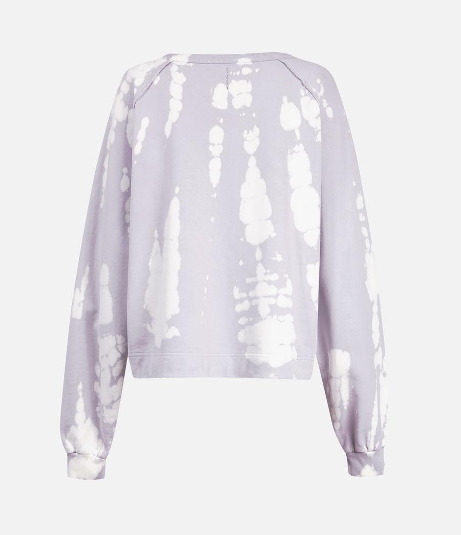 Mujer Tie Dye Jessi Sweatshirt (lavender) - Image 3