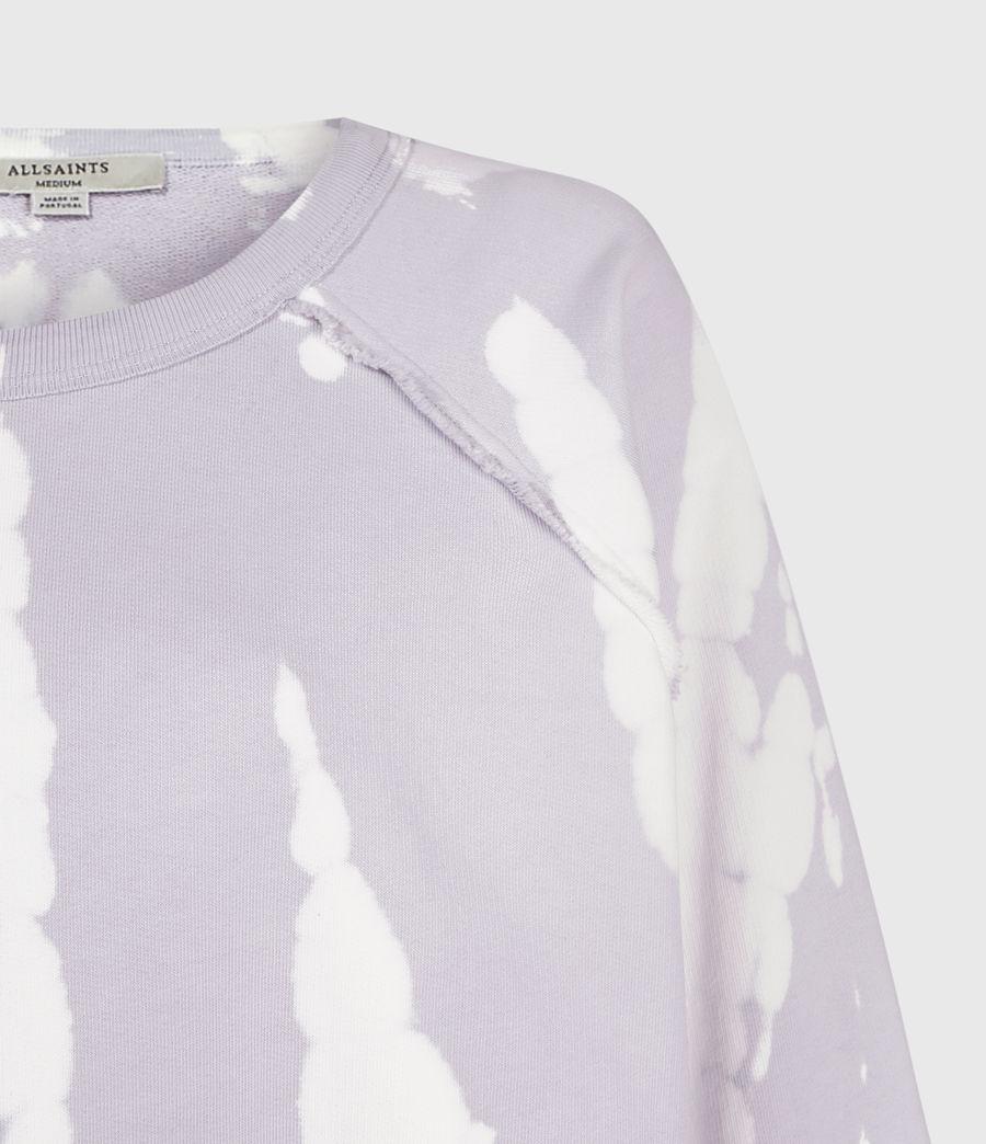 Mujer Tie Dye Jessi Sweatshirt (lavender) - Image 4