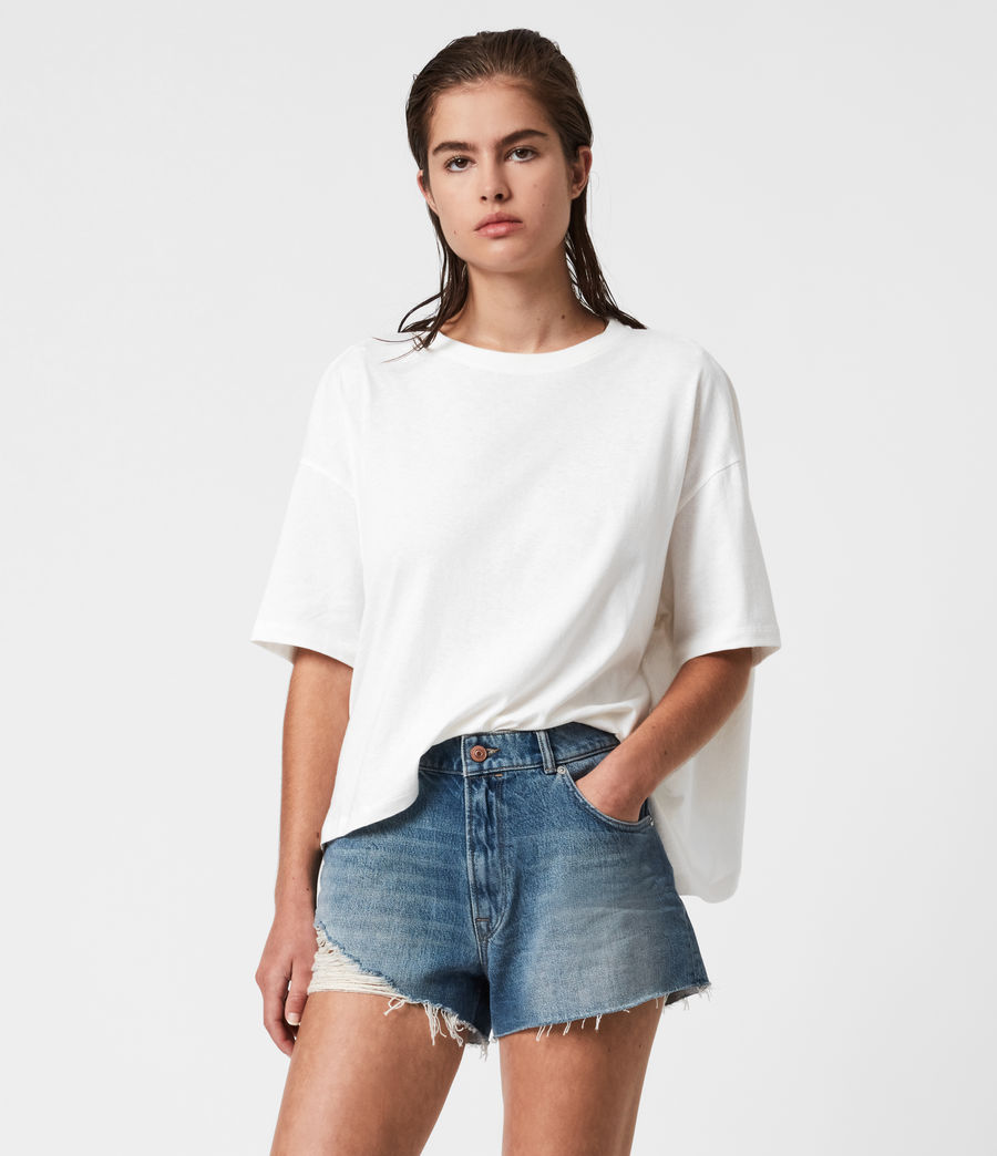Womens Niki T-Shirt (chalk_white) - Image 4
