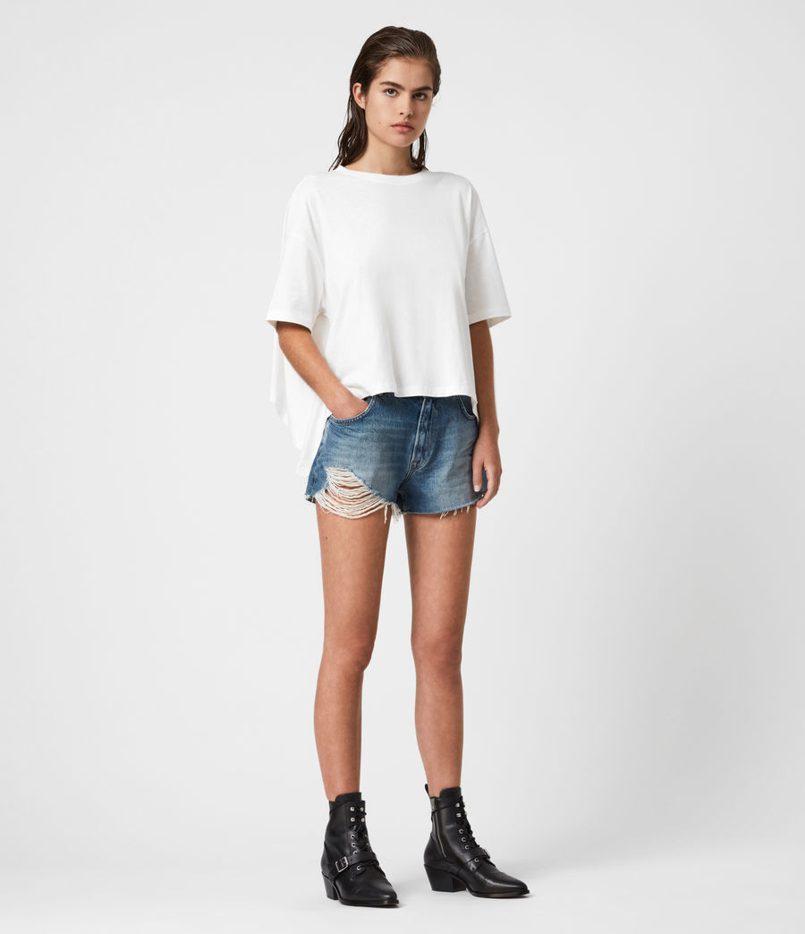 Women's Niki T-Shirt (chalk_white) - Image 5