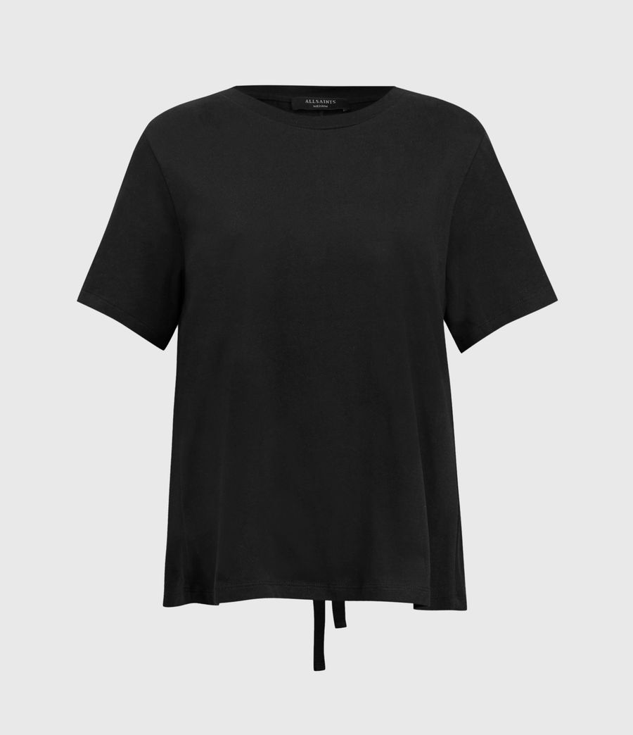 Damen Niki T-Shirt (black) - Image 1