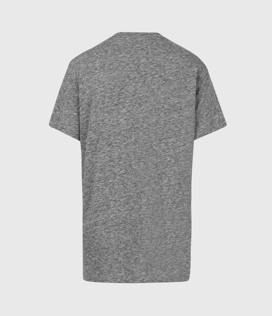 Womens Horizon Boyfriend T-Shirt (grey_marl) - Image 3