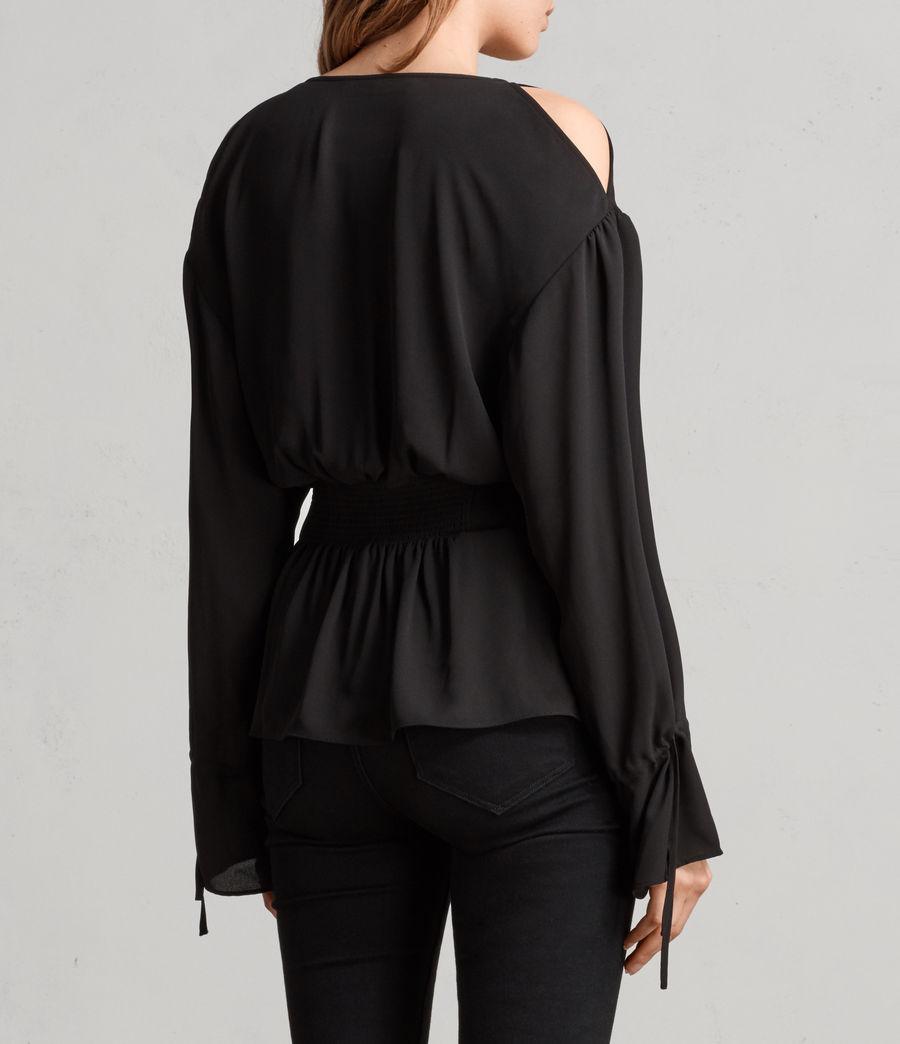 Mujer Top Lavete (black) - Image 4