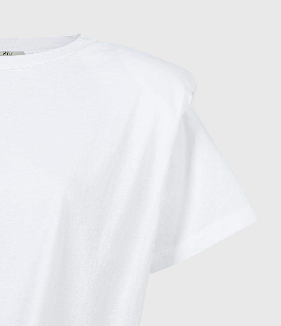 Women's Coni Tie T-Shirt (optic_white) - Image 5