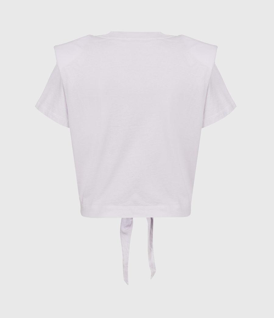 Womens Coni Tie Tank (misty_lilac) - Image 3
