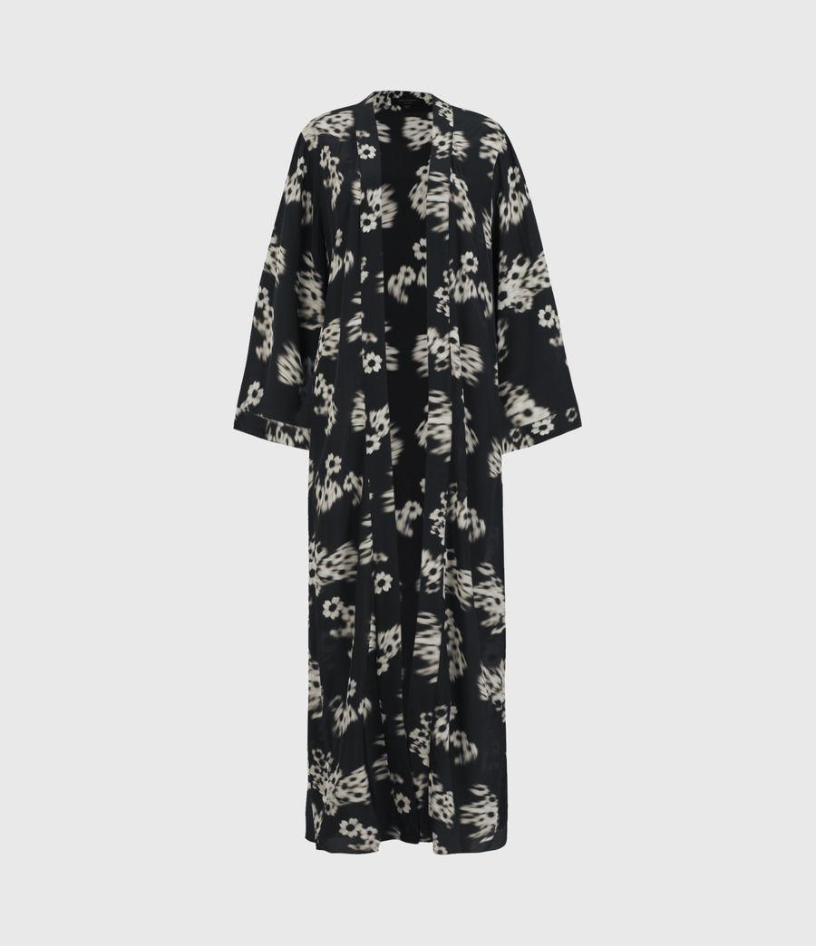 Femmes Kimono Carine Jasmine (black_white) - Image 2