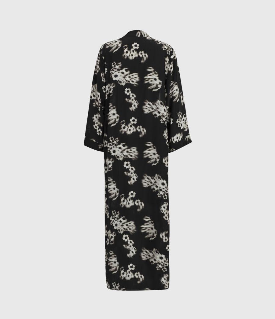 Femmes Kimono Carine Jasmine (black_white) - Image 3
