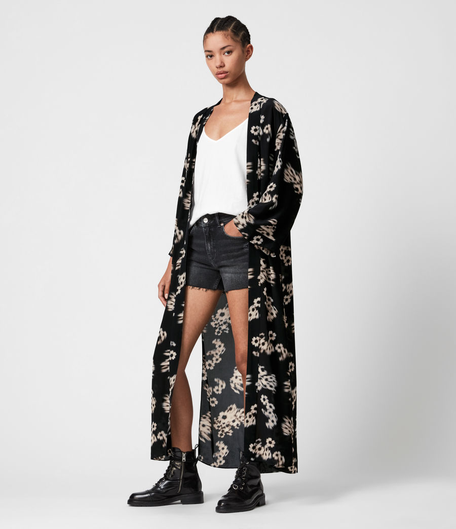 Mujer Carine Jasmine Kimono (black_white) - Image 4