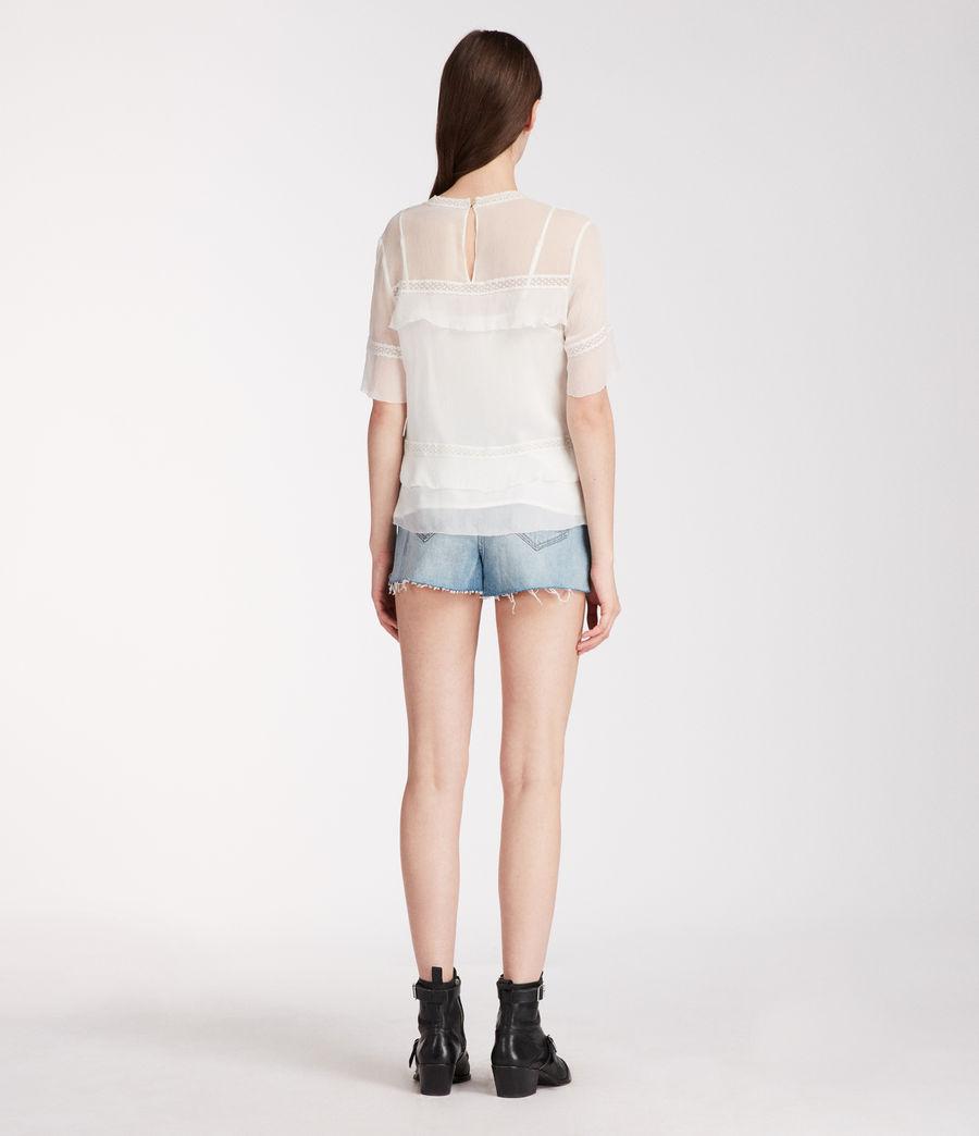 Donne Top Selima Eboshi (chalk_white) - Image 5