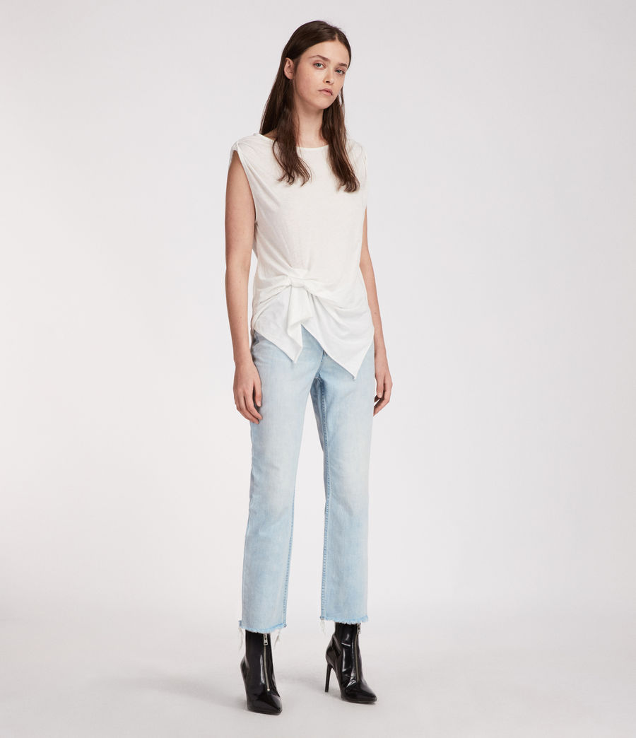 Mujer Camiseta Rivi (smog_white) - Image 1