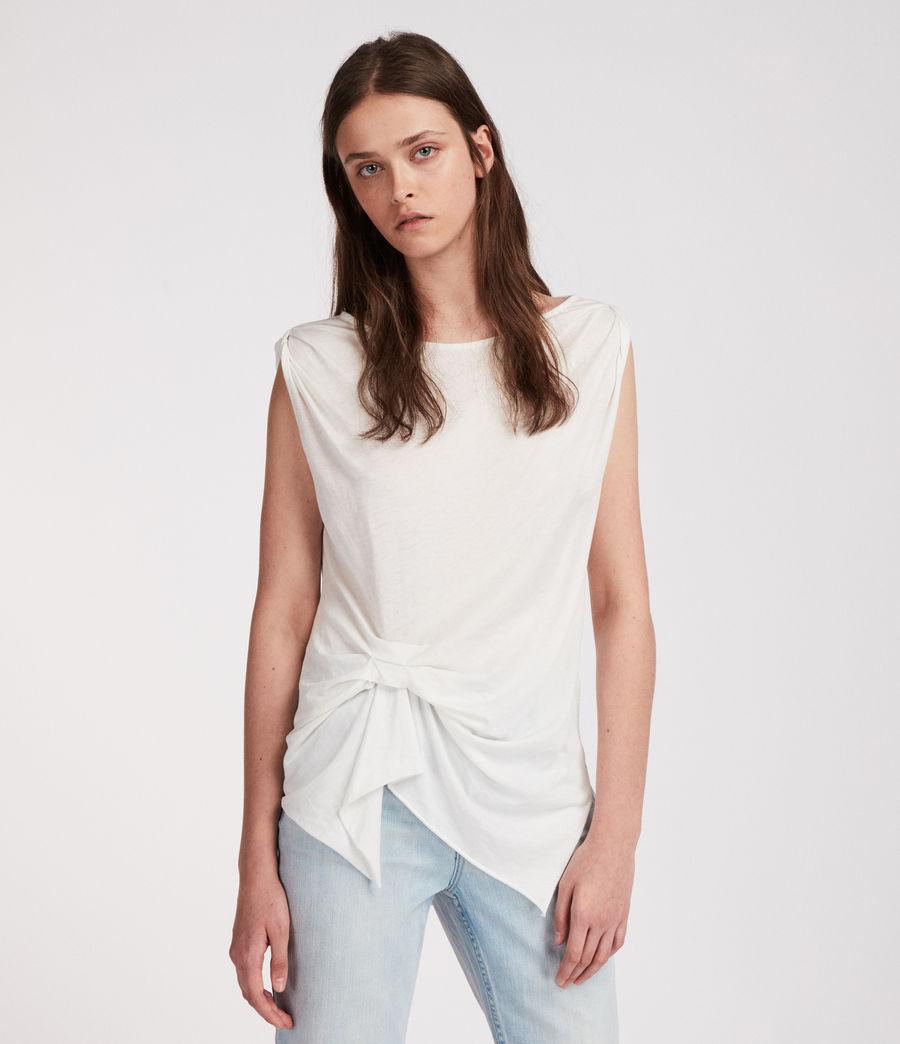 Mujer Camiseta Rivi (smog_white) - Image 2