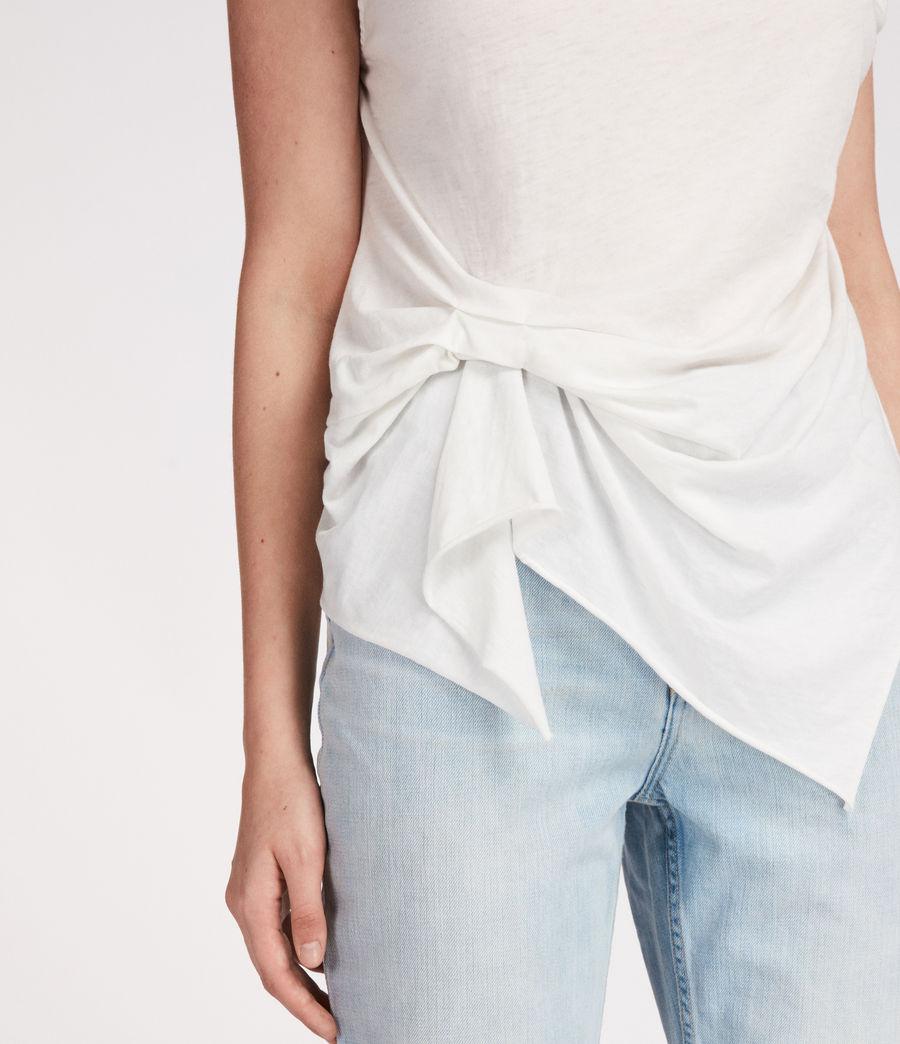Mujer Camiseta Rivi (smog_white) - Image 3