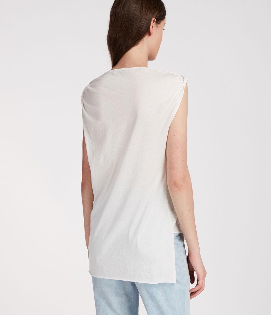 Mujer Camiseta Rivi (smog_white) - Image 4