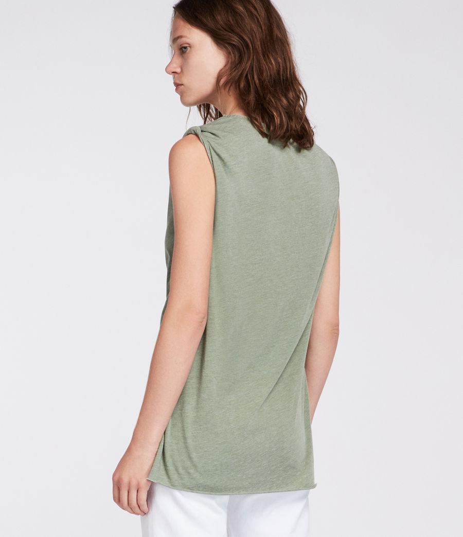 Mujer Camiseta Rivi (stone_green) - Image 4