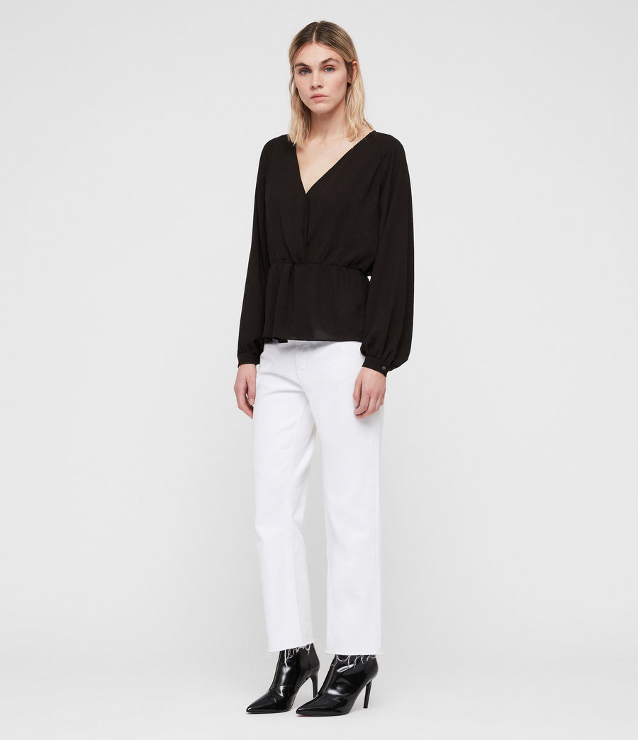 Damen Lasia Top (black) - Image 1