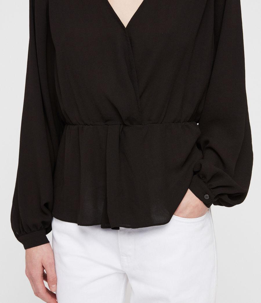 Damen Lasia Top (black) - Image 2