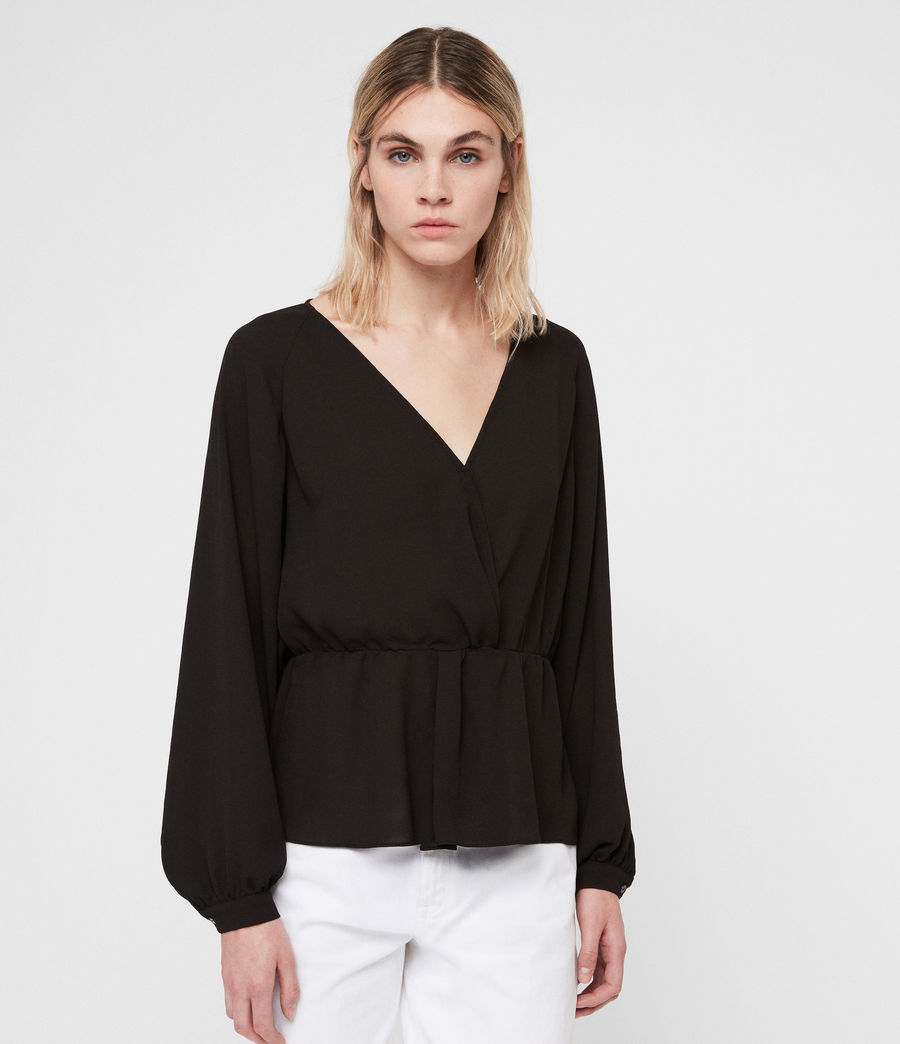 Damen Lasia Top (black) - Image 3