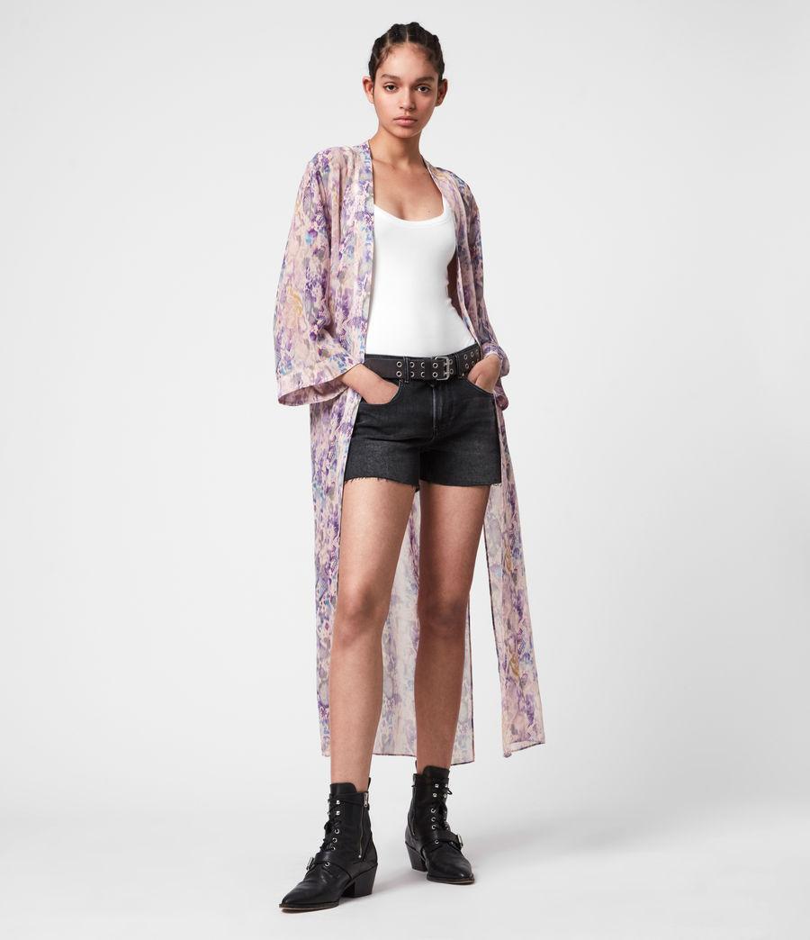 Womens Carine Masala Kimono (mink_pink) - Image 1