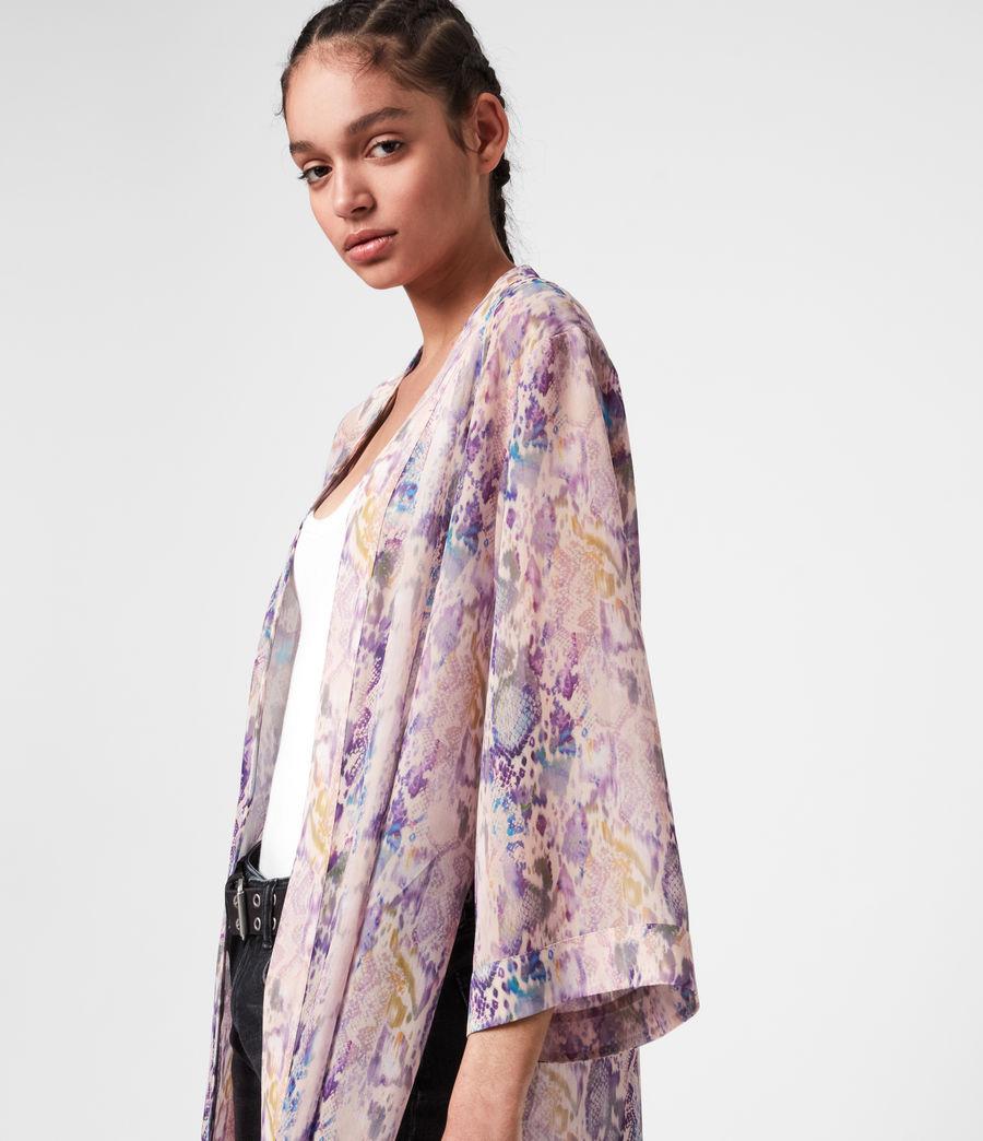 Womens Carine Masala Kimono (mink_pink) - Image 2