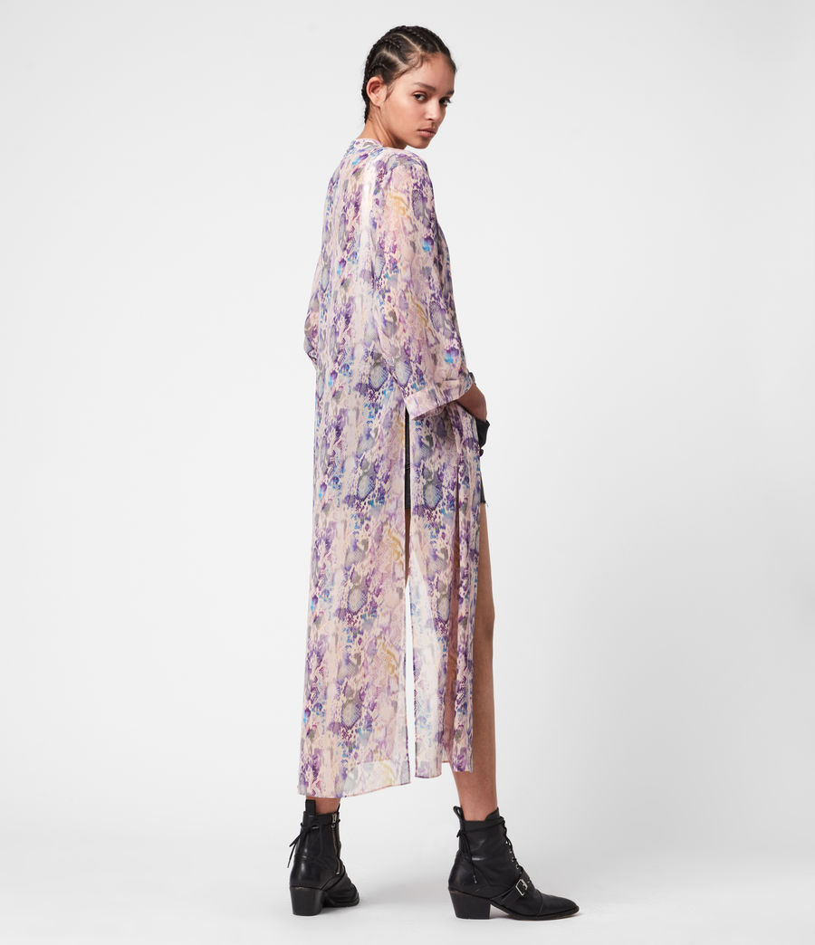 Womens Carine Masala Kimono (mink_pink) - Image 5