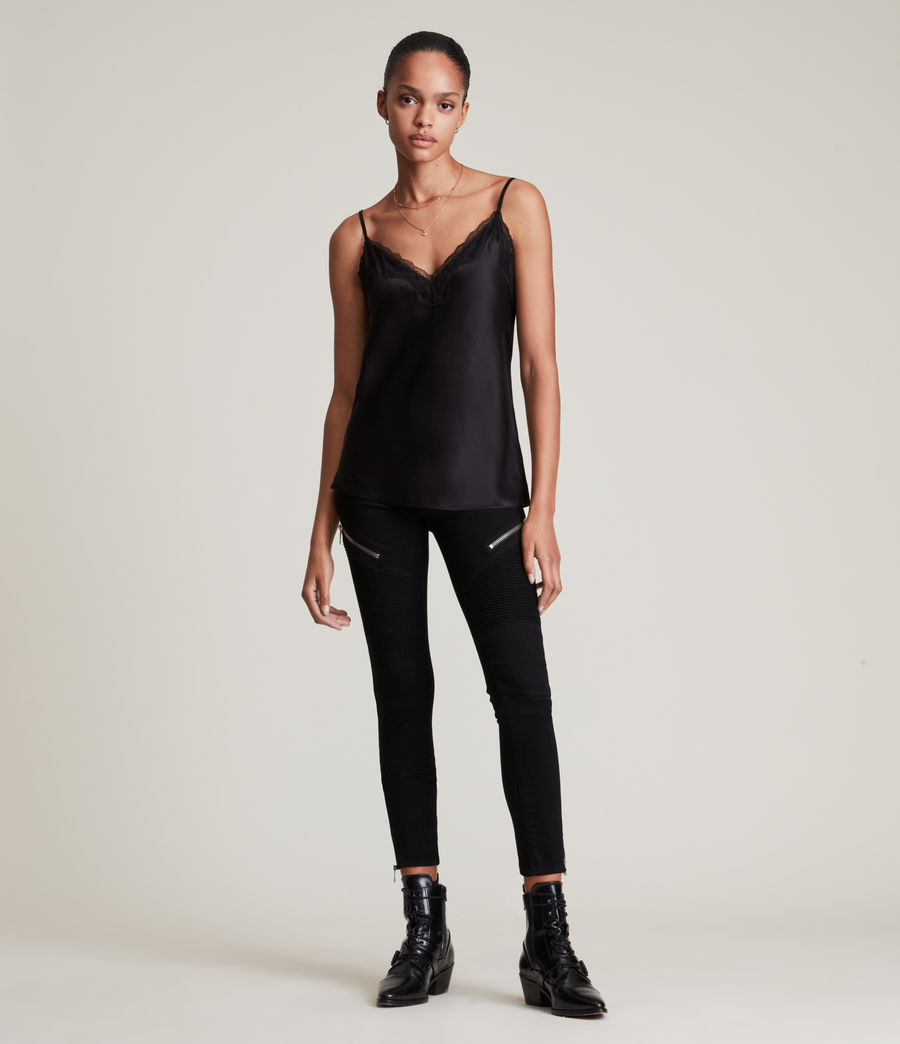 Women's Lexi Cami (black) - Image 3