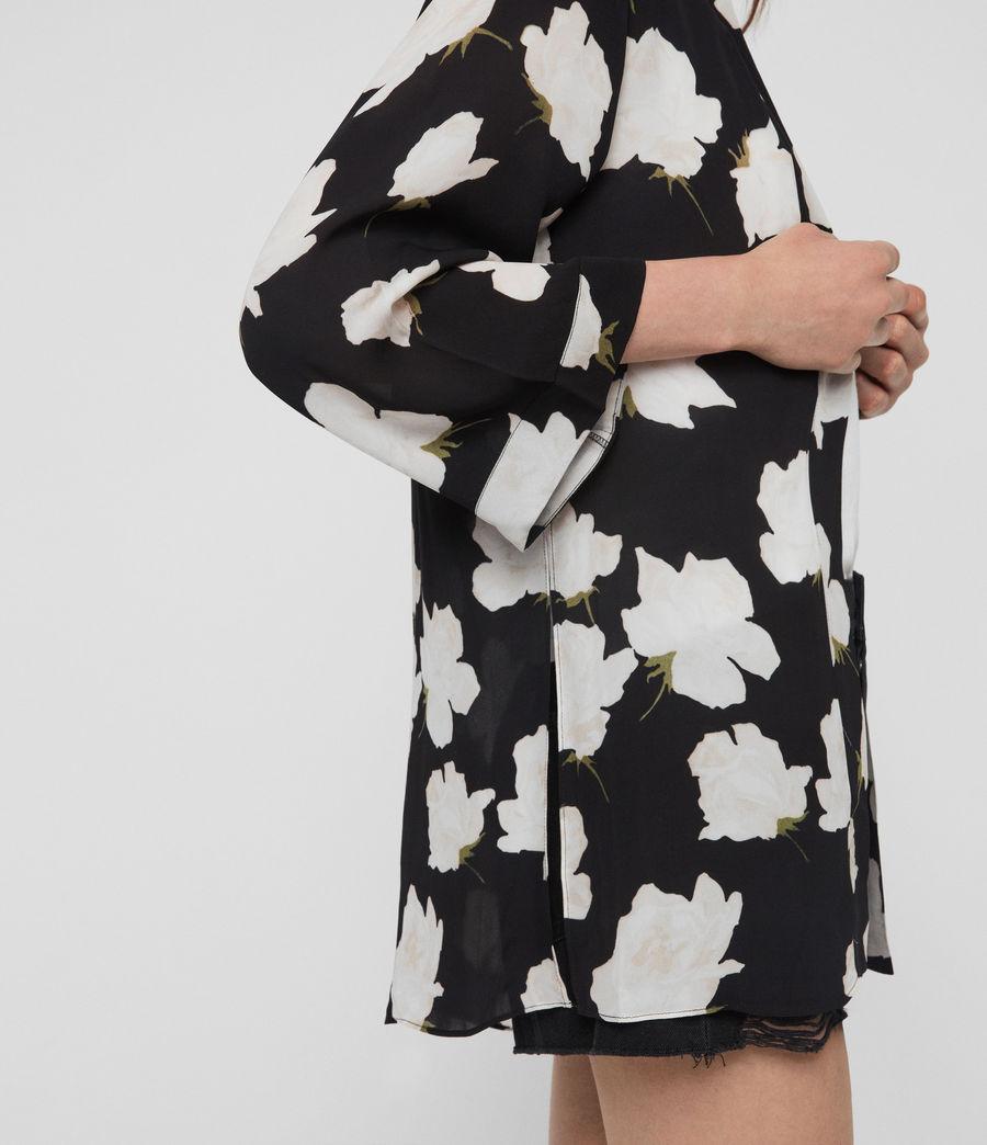 Mujer Kimono Carina Caro (black) - Image 2