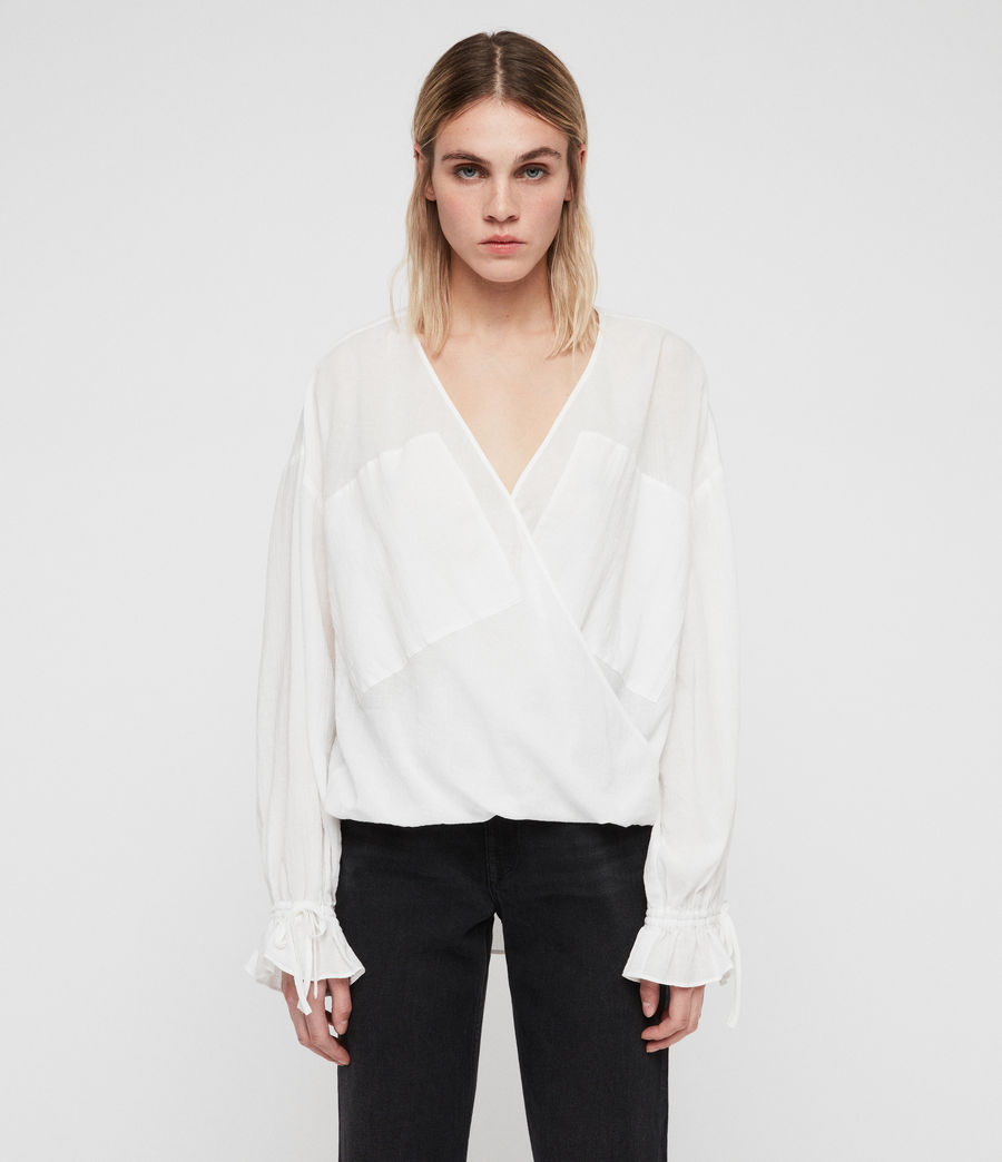 Womens Penny Top (chalk_white) - Image 1