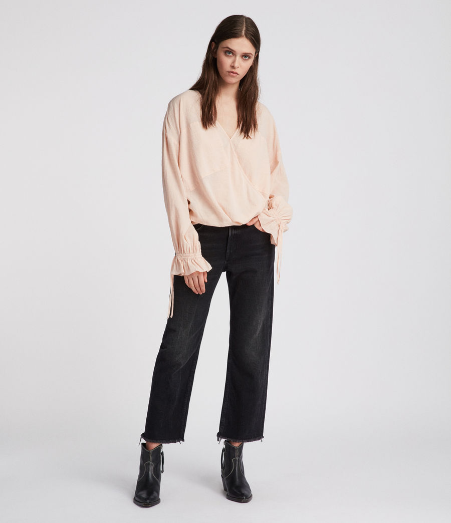 Women's Penny Top (rose_pink) - Image 2