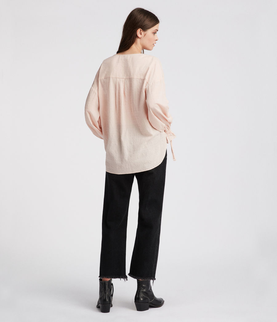 Women's Penny Top (rose_pink) - Image 4