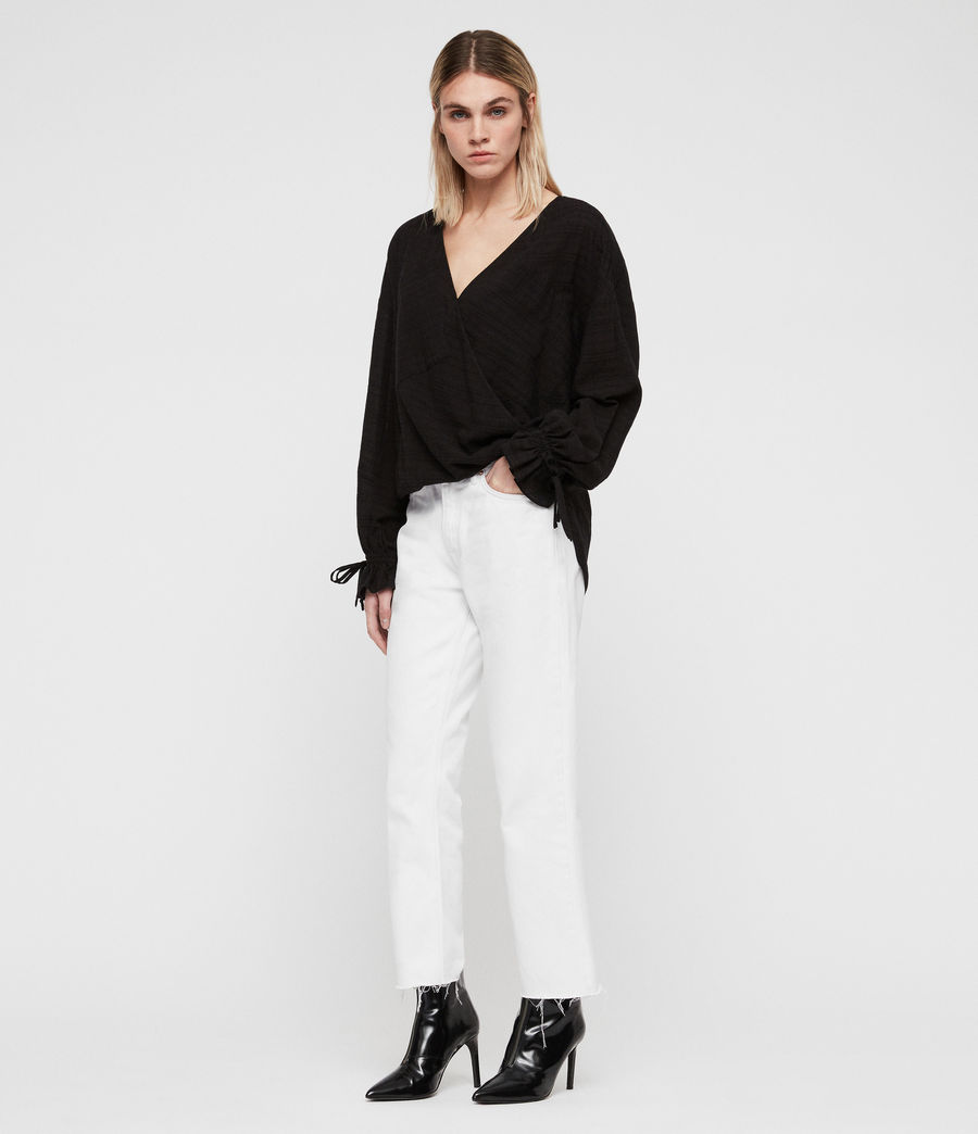 Mujer Top Penny (black) - Image 3