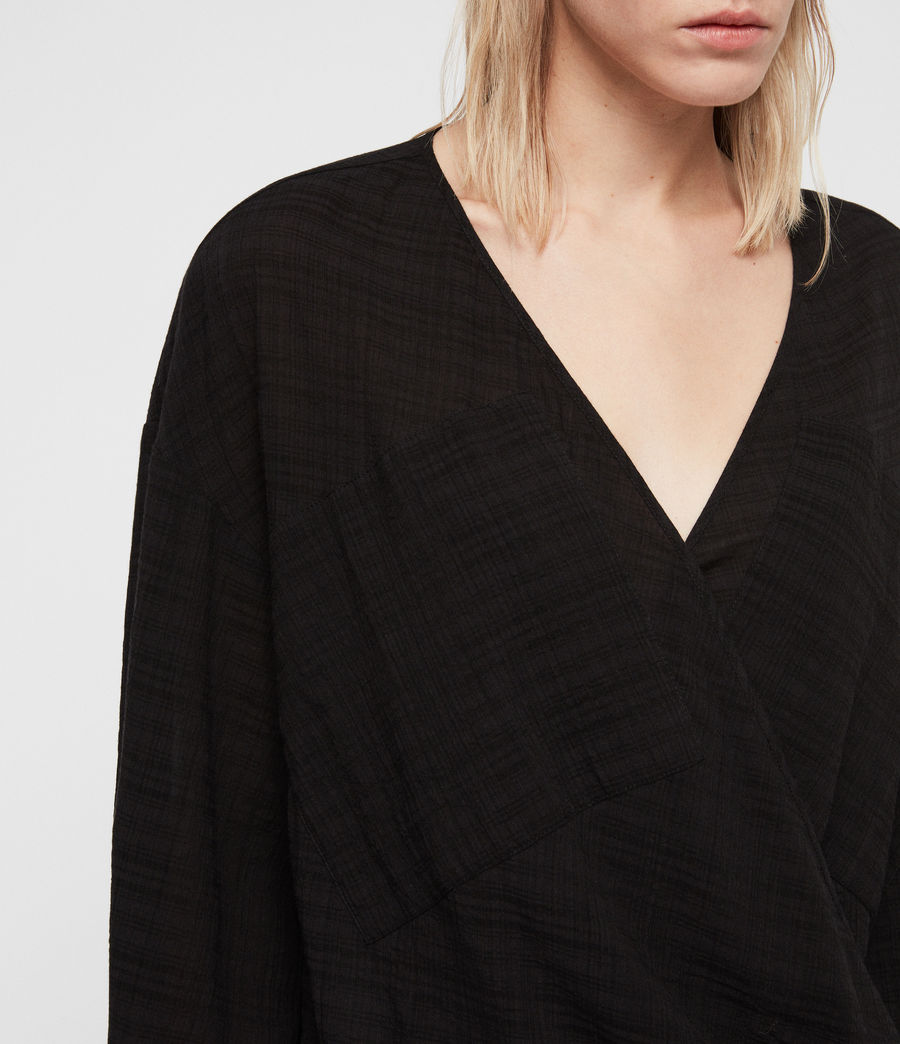 Womens Penny Top (black) - Image 4