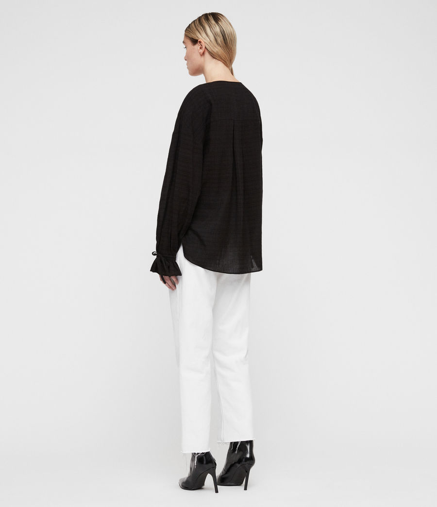 Womens Penny Top (black) - Image 5