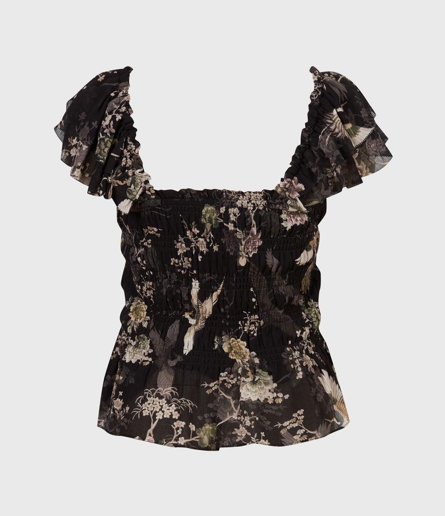 Women's Mali Amare Top (black) - Image 3