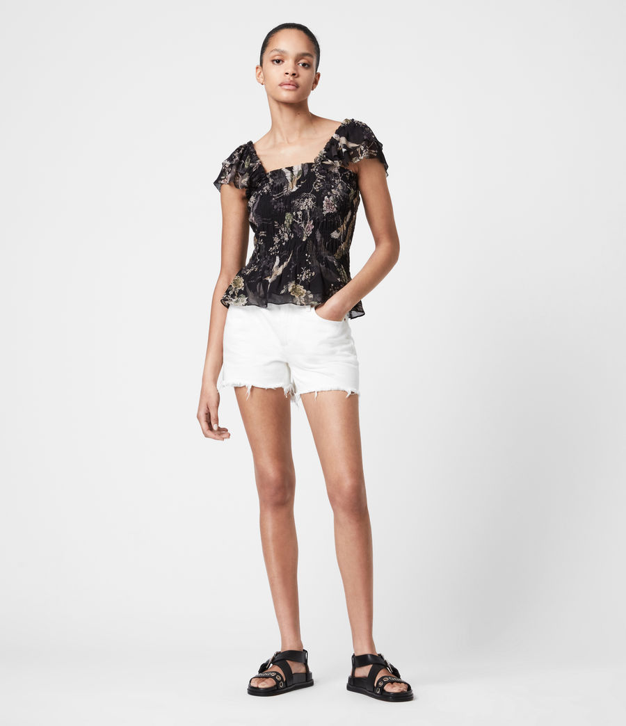 Women's Mali Amare Top (black) - Image 4