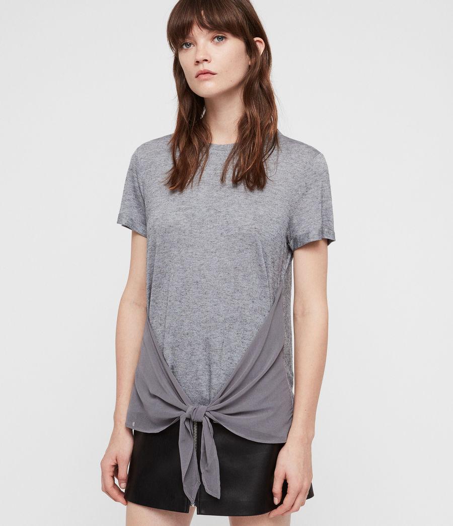 Women's Yato T-Shirt (grey_marl) - Image 1